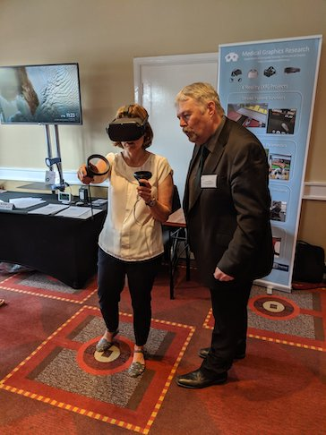 Nigel John at the Assistive Technology in Neurorehabilitation conference, Northampton, July 2019